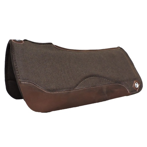 Manta Impacto Pad Boots Horse Feltro Marrom Tambor - Cavalaria Shop