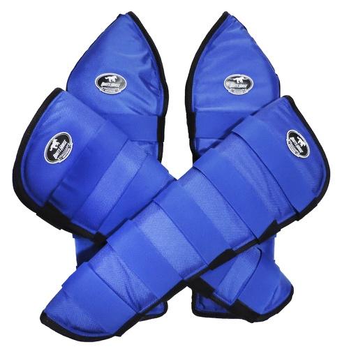 Protetor de Viagem Azul - Boots Horse - Cavalaria Shop