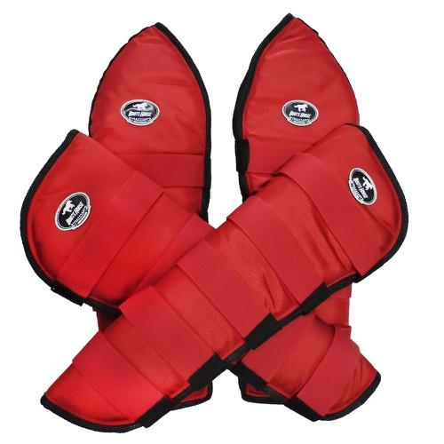 Protetor de Viagem Vermelho - Boots Horse - Cavalaria Shop