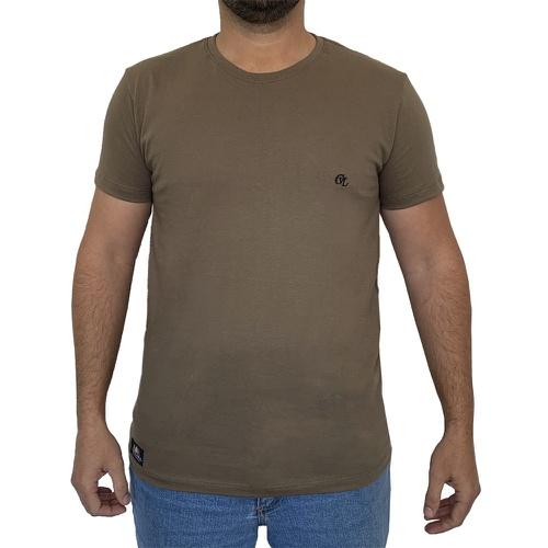 Camiseta CAVALARIA Básica - Oliva