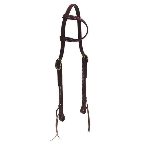 Cabeçada em Borracha 1 orelha Marrom - Top Equine - Cavalaria Shop