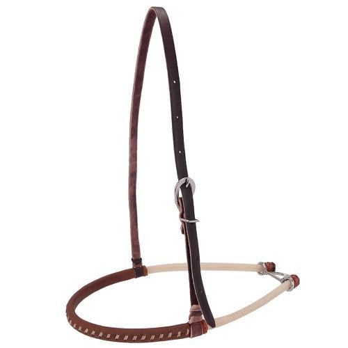 Gamarra de couro nobre e corda 2 peia - Equitech - Cavalaria Shop