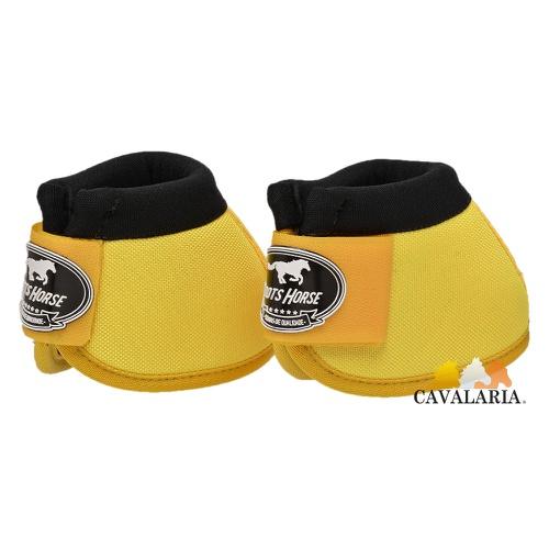 Cloche em Neoprene Amarelo - Boots Horse - Cavalaria Shop