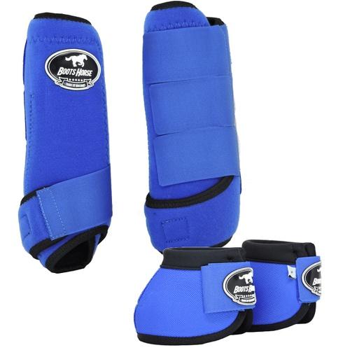 Conjunto Caneleira e Cloche Azul Royal - Boots Hor... - Cavalaria Shop