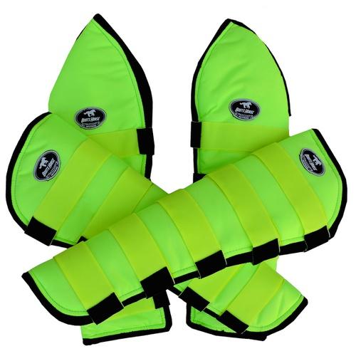 Protetor de Viagem Verde Limão - Boots Horse - Cavalaria Shop