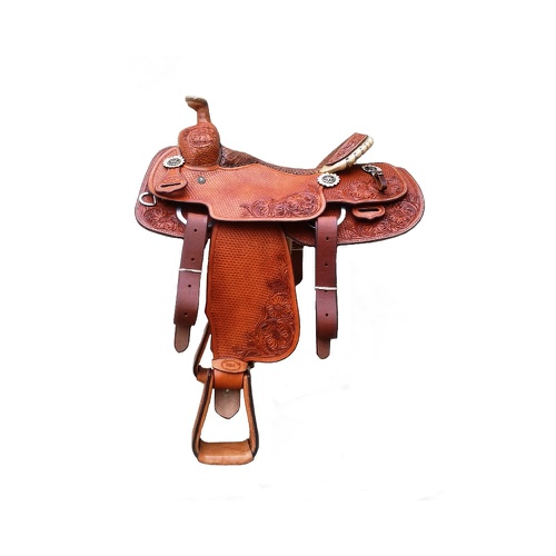 Sela Artesanal para Team Roping - Pro Horse PHTR14... - Cavalaria Shop