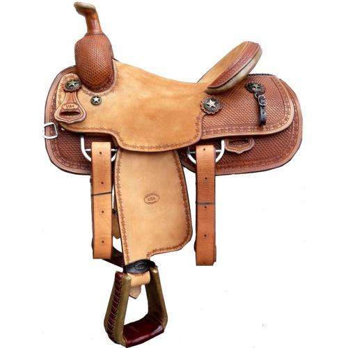 Sela Artesanal para Team Roping - Pro Horse PH1002 - Cavalaria Shop