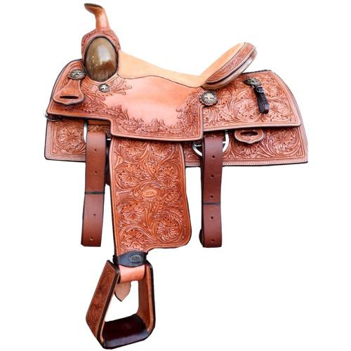 Sela Artesanal para Team Roping - Pro Horse PH1005 - Cavalaria Shop