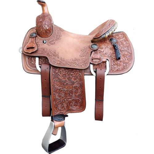 Sela Artesanal para Team Roping - Pro Horse PH1012 - Cavalaria Shop