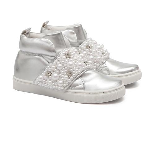 Tênis Sneaker Metalizado Gats Menina Perolas - GATS