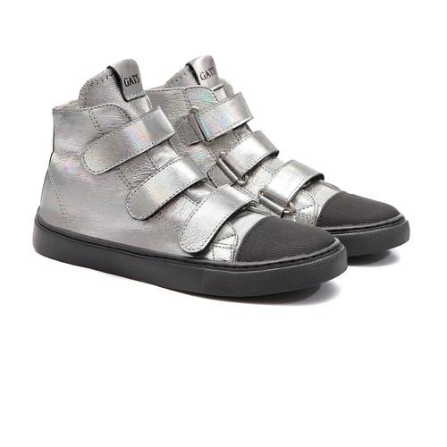 Tênis Sneaker Couro Gats Menina Cano Alto - GATS