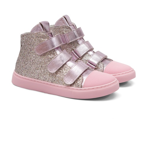 Tênis Sneaker Glitter Gats Menina Cano Alto - GATS