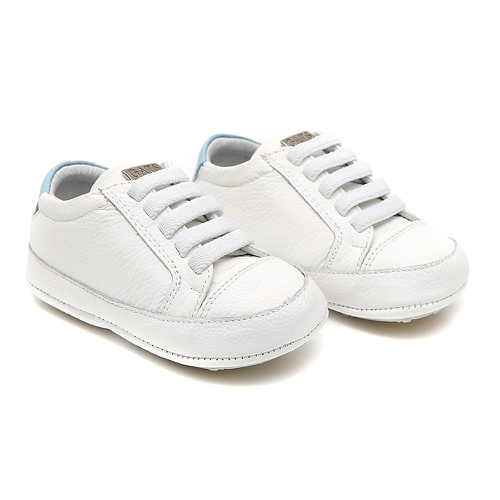 Tênis Baby Masculino Branco - GATS