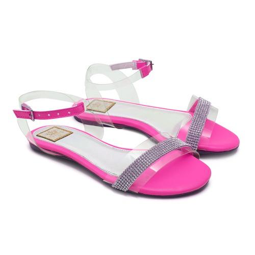 Sandália Feminina Infantil Neon Pink Gats - GATS