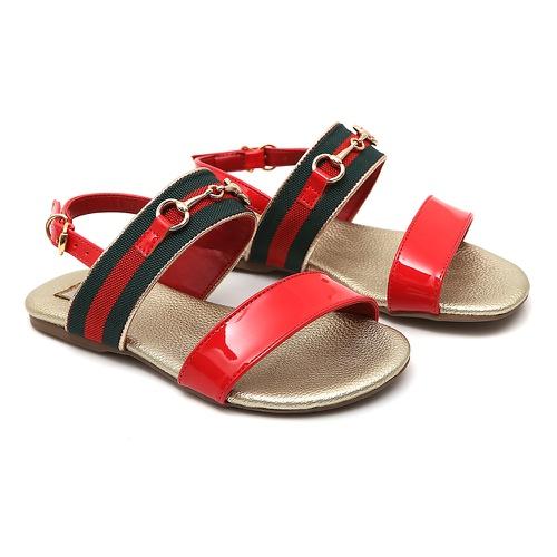 Sandália Feminina Vermelha Gats - GATS