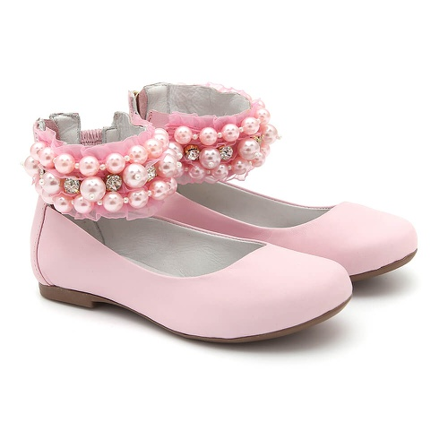 Sapato de Tornozeleiras Bordado Infantil Gats - GATS