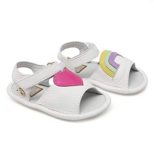Sandália Branca Baby Gats - GATS