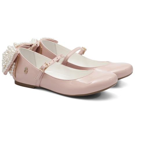 Sapato Verniz Gats Menina Laço Perolas - GATS