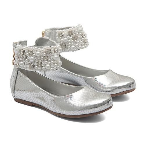 Sapato de Tornozeleiras Prata Infantil Gats - GATS