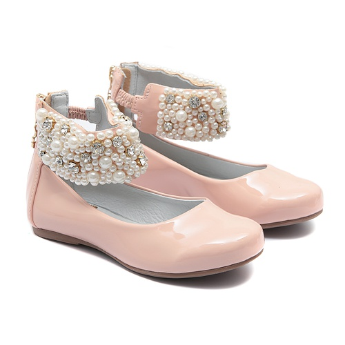 Sapato de Tornozeleiras de Verniz Infantil Gats - GATS