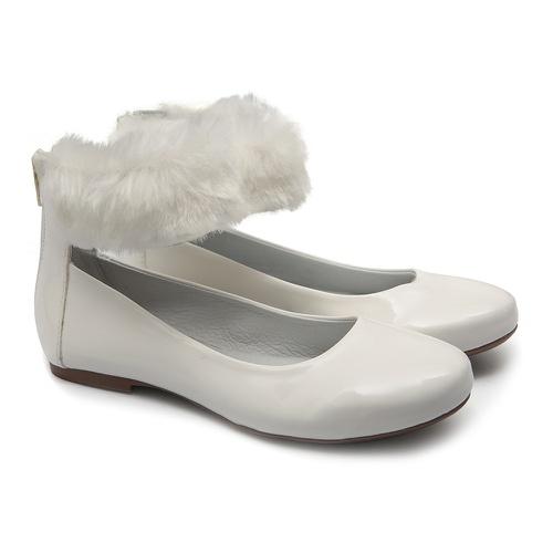 Sapato de Tornozeleira com Pêlo Infantil Gats - GATS