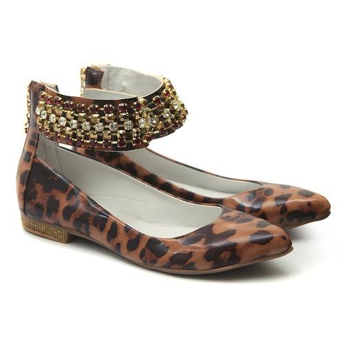 Sapato de Tornozeleiras Onça Infantil Gats - GATS