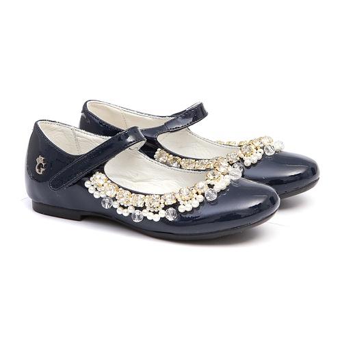 Sapato Feminino Verniz Marinho - GATS