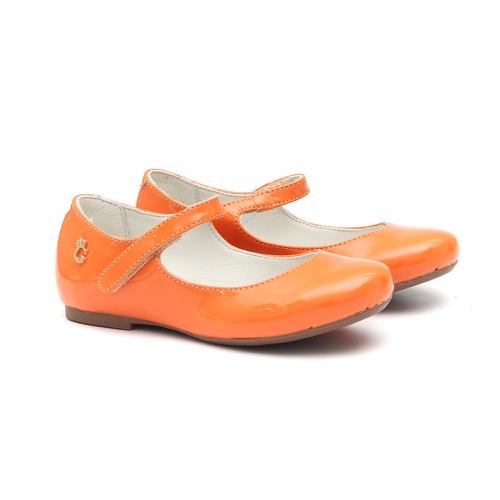 Sapato Feminino Verniz Urucum - GATS