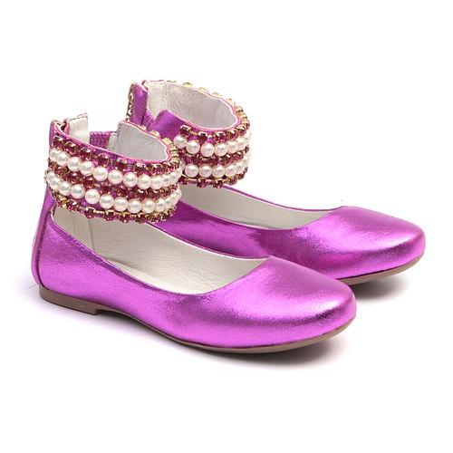 Sapato de Tornozeleiras Pink Infantil Gats - GATS