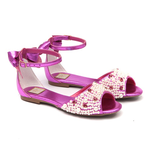 Peep toe Pink Infantil Gats - GATS