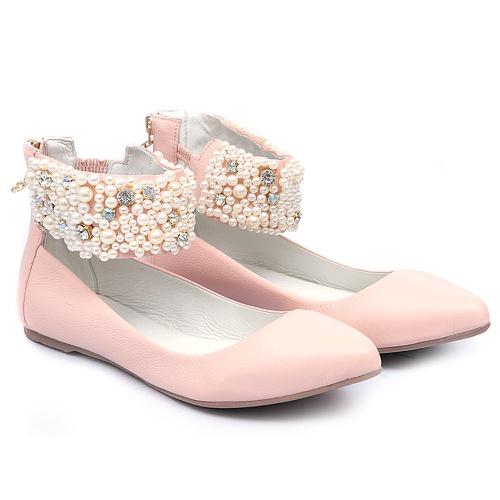 Sapato de Tornozeleiras Baby Blush - GATS