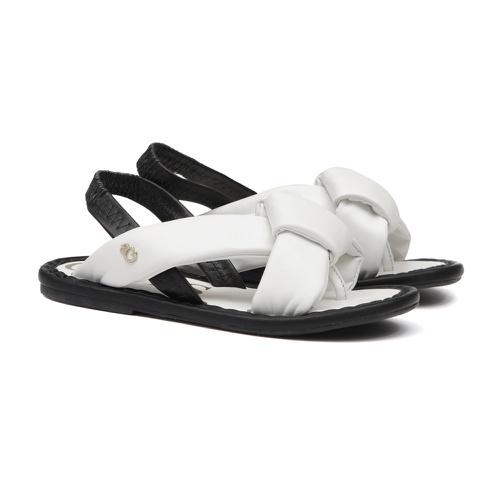 Sandália de Laço Branco Infantil Gats - GATS