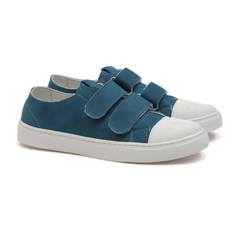 Tênis Infantil de Velcro Azul Infantil Gats - GATS