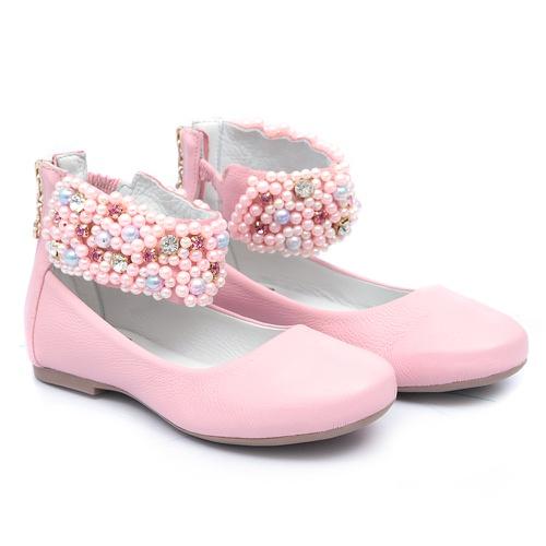 Sapato de Tornozeleiras Rosa Infantil Gats - GATS