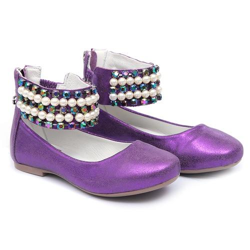 Sapato de Tornozeleiras Roxo Infantil Gats - GATS