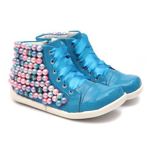 Tênis Sneaker Azul Infantil Gats - GATS