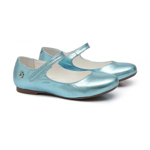 Sapatilha Boneca Azul Cristal - GATS