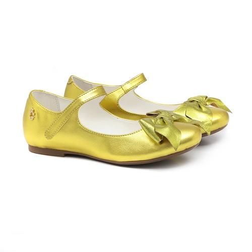 Sapatilha de Laço Amarelo - GATS