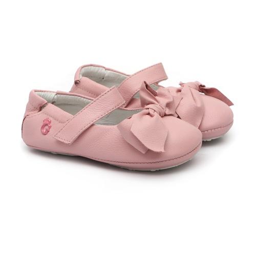 Sapatinho Laço Rosa Bebê - GATS