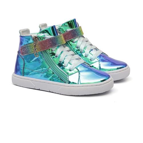 Tênis Sneaker Holográfico Verde - GATS