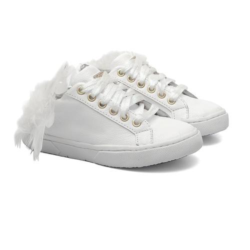 Tênis Sneaker Penas Branco - GATS
