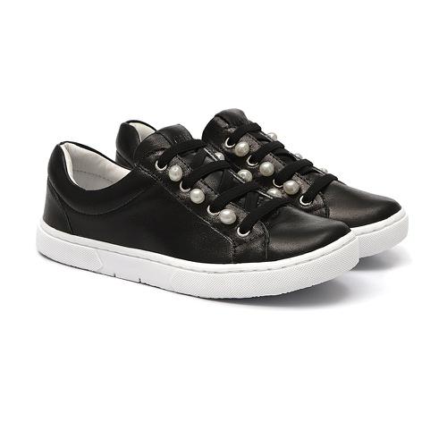 Tênis Sneaker Pérolas Preto - GATS