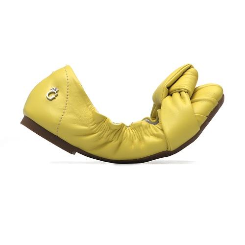 Sapatilha Elástico Amarelo Isis - GATS