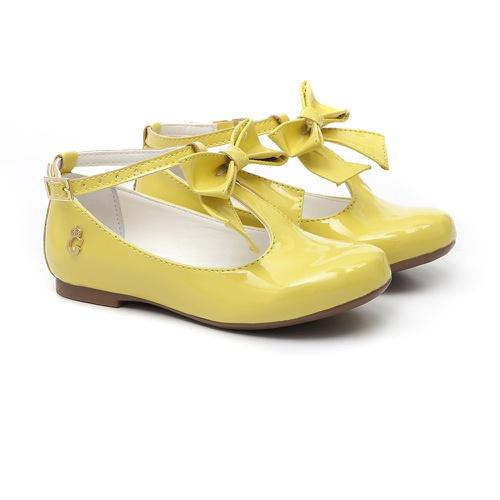 Sapatilha Laço Amarelo - GATS