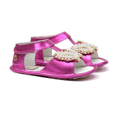 Sandália Borboleta Bordada Pink Gats - GATS
