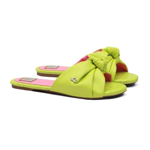 Slide Laço Verde Limão Infantil Gats - GATS