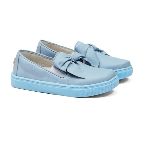 Tênis Slip On Laço Azul Infantil Gats - GATS