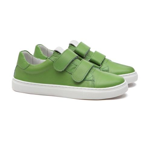 Tênis de Velcro Verde Infantil Gats - GATS