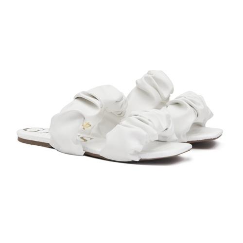 Sandália Flatform Elástico Branco Infantil Gats - ... - GATS