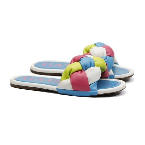 Sandália Flatform Azul Infantil Gats - GATS